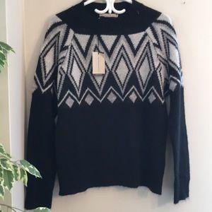 NWT Italian made mohair blend sweater